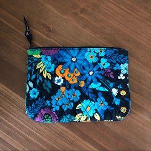 Vera Bradley, Blue Floral Make-Up Bag